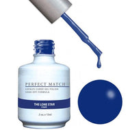LeChat LeChat Perfect Match Gel / Lacquer Combo - The Lone Star 0.5 oz - #PMS139 - Sleek Nail