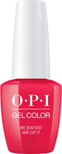 OPI OPI GelColor - We Seafood and Eat It 0.5 oz - #GCL20 - Sleek Nail