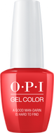 OPI OPI GelColor - A Good Man-darin is Hard to Find 0.5 oz - #GCH47 - Sleek Nail