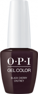 OPI OPI GelColor - Black Cherry Chutney 0.5 oz - #GCI43 - Sleek Nail