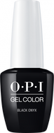 OPI OPI GelColor - Black Onyx 0.5 oz - #GCT02 - Sleek Nail