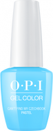 OPI OPI GelColor - Can't Find My Czechbook (Pastel) 0.5 oz - #GC101 - Sleek Nail