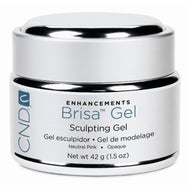 CND - Brisa Sculpting Gel - Neutral Pink - Opaque 1.5 oz, Acrylic Gel System - CND, Sleek Nail