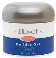 IBD - Clear Builder Gel 2 oz, Acrylic Gel System - IBD, Sleek Nail