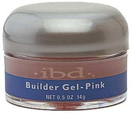 IBD - Pink Builder Gel 0.5 oz, Acrylic Gel System - IBD, Sleek Nail
