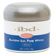 IBD - Pure White Builder Gel 2 oz., Acrylic Gel System - IBD, Sleek Nail