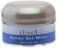IBD - White Builder Gel (Original White) 0.5 oz, Acrylic Gel System - IBD, Sleek Nail