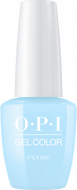 OPI OPI GelColor -  It's A Boy! 0.5 oz - #GCT75 - Sleek Nail