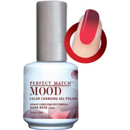 LeChat Perfect Match Mood Gel - Dark Rose 0.5 oz - #MPMG34, Gel Polish - LeChat, Sleek Nail