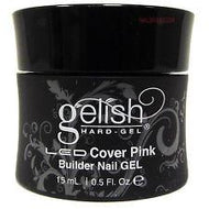 Harmony Gelish - LED Hard Cover Pink Builder Nail Gel 1.6 oz, Acrylic Gel System - Nail Harmony, Sleek Nail