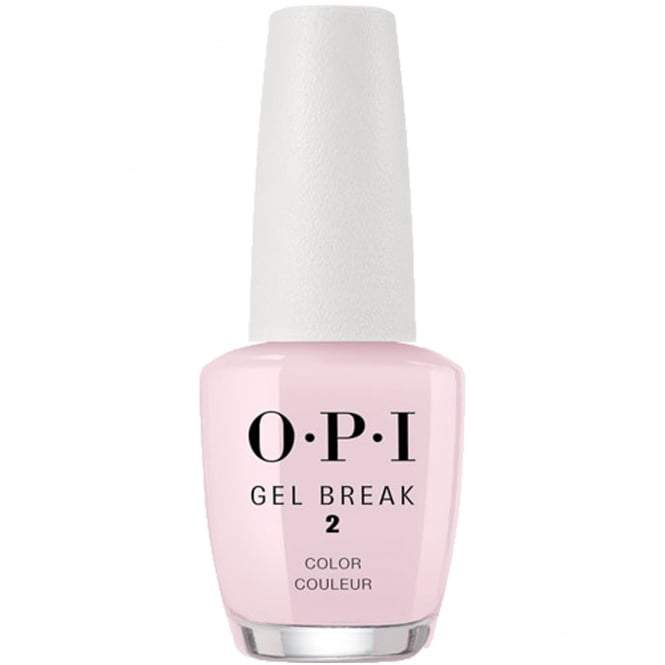 OPI Gel Break Step 2 - Properly Pink 0.5 oz - #NTR03