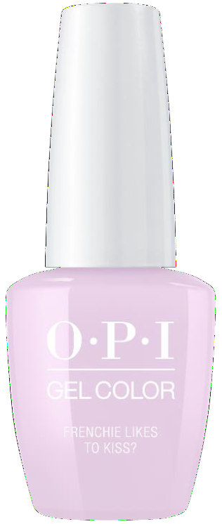 OPI GelColor - Frenchie Likes To Kiss? 0.5 oz - #GCG47