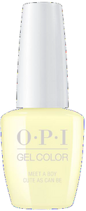 OPI GelColor - Meet A Boy Cute As Can Be 0.5 oz - #GCG42