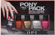 OPI Nail Lacquer - Pony Pack Mini (Ford Mustang 2014 Collection), Kit - OPI, Sleek Nail