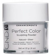 CND - Perfect Color Powder - Natural - Sheer 0.8 oz, Acrylic Powder - CND, Sleek Nail