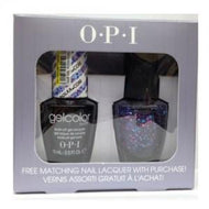 OPI GelColor - Polka.com 0.5 oz with FREE matching nail lacquer!, Kit - OPI, Sleek Nail