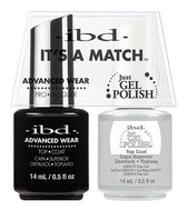 IBD It's A Match Duo - Top Coat - #65464, Gel & Lacquer Polish - IBD, Sleek Nail