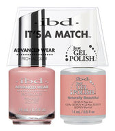 IBD It's A Match Duo - Naturally Beautiful - #65482, Gel & Lacquer Polish - IBD, Sleek Nail