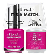 IBD It's A Match Duo - Peony Bouquet - #65497, Gel & Lacquer Polish - IBD, Sleek Nail