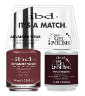 IBD It's A Match Duo - Petal Imprint - #65524, Gel & Lacquer Polish - IBD, Sleek Nail