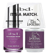 IBD It's A Match Duo - Sweet Sanctuary - #65538, Gel & Lacquer Polish - IBD, Sleek Nail