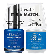 IBD It's A Match Duo - Sargasso Sea - #65545, Gel & Lacquer Polish - IBD, Sleek Nail
