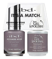 IBD It's A Match Duo - Patchwork - #65565, Gel & Lacquer Polish - IBD, Sleek Nail