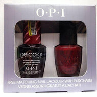 OPI GelColor - I'm Not Really a Waitress 0.5 oz with FREE matching nail lacquer!, Kit - OPI, Sleek Nail