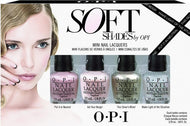 OPI Nail Lacquer - Soft Shades Mini, Kit - OPI, Sleek Nail