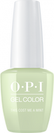 OPI OPI GelColor -  This Cost Me A Mint 0.5 oz - #GCT72 - Sleek Nail