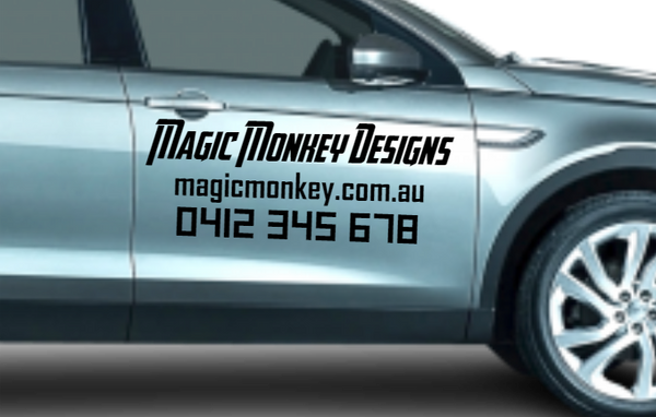 Business Car Decals