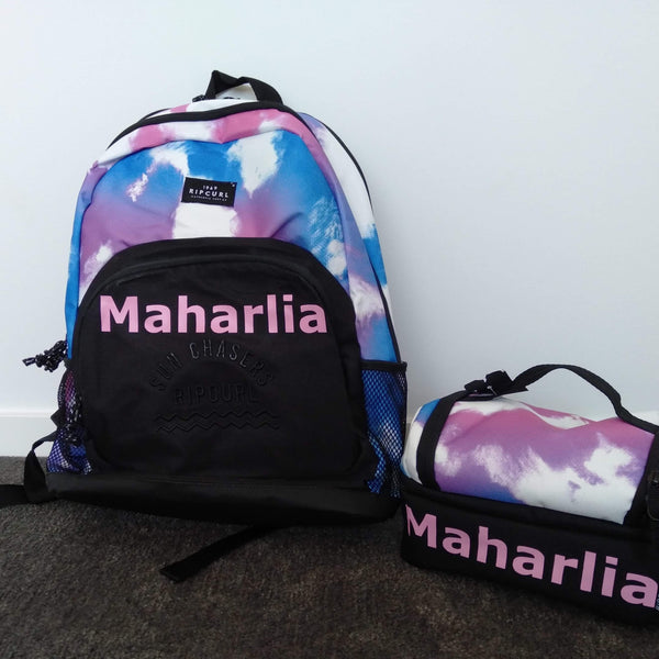 Iron-on Names for Reader Bags