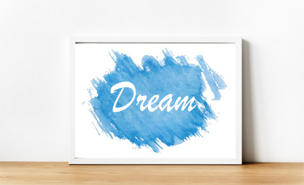 Dream Watercolour. Digital Download.