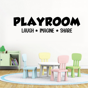 Playroom Decal