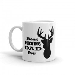 Best Bucking Dad Mug