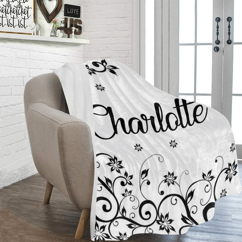 Elegant Name Blanket