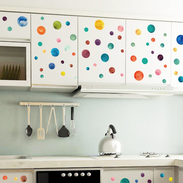 Watercolour Wall Decals