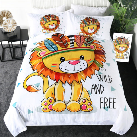 Little Lion Bedding Set