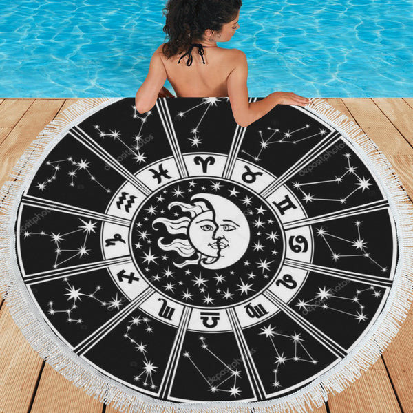 Zodiac Circle Towel