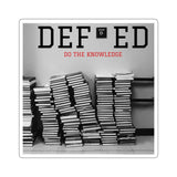 DEF-ED 6-Stacks Stickers