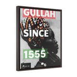 Gullah Since 1555 Gallery Wrap Canvas