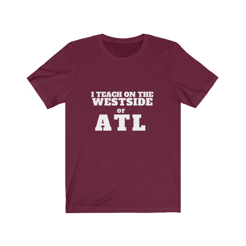 ITEACH - WEST ATL Unisex Jersey Short Sleeve Tee