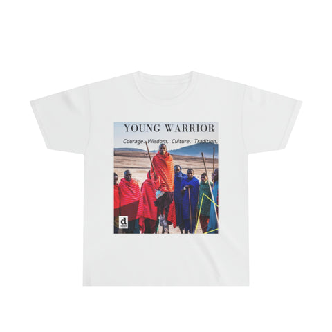 Young Warrior Cotton Tee