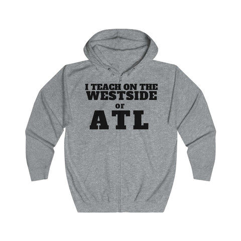 ITEACH - WEST ATL Unisex Full Zip Hoodie