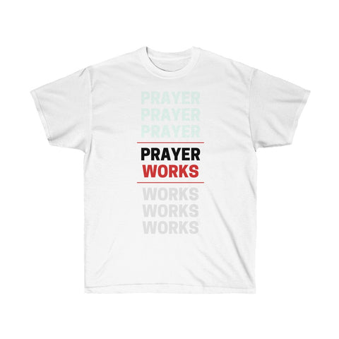 Prayer Works Ultra Cotton Tee