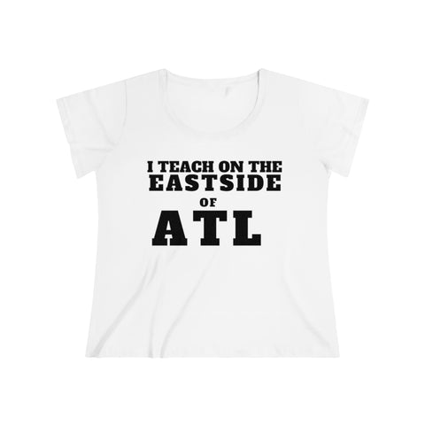 ITEACH - EAST ATL Women's Curvy Tee