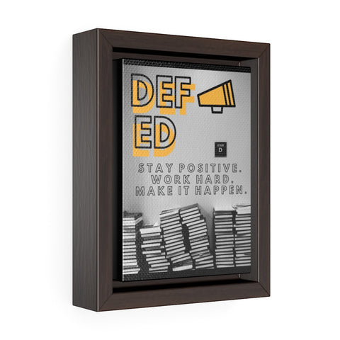 MegaDEF Premium Gallery Wrap Canvas