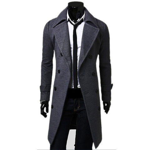 Def-ED Campus Trench Coat