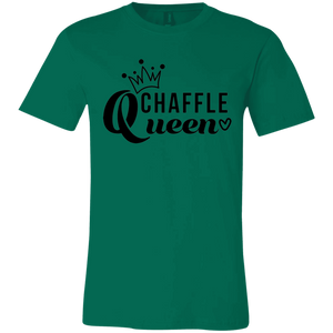 Chaffle Queen - Black Text Unisex Shirt