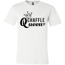 Load image into Gallery viewer, Chaffle Queen - Black Text Unisex Shirt